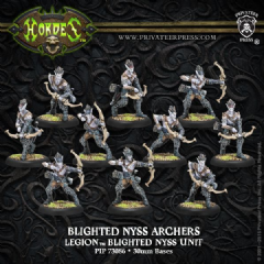 Legion Blighted Archers/Swordsmen (10)   PLASTIC